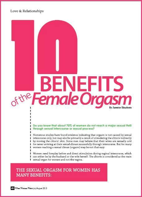 Orgasm during sexual intercourse